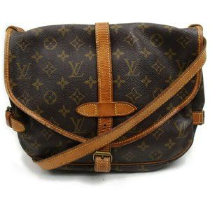 Louis Vuitton Saumur 30 Brown Crossbody #5363L23